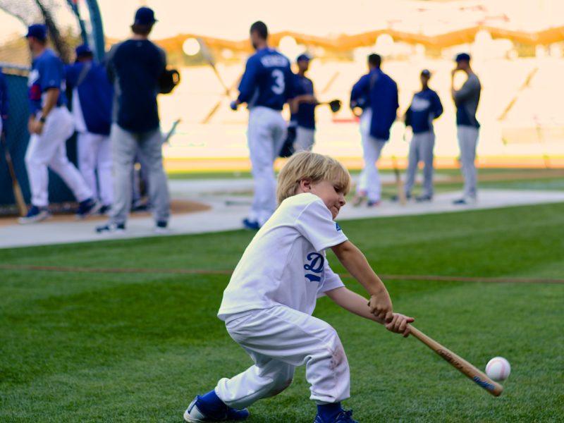 Hitting Dodger Stadium